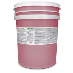 Alpha Bac 10 - 5 gallon pail Alpha Bac 10, Sanitizer, Disinfectant, School Sanitizer, Food Processing Sanitizer