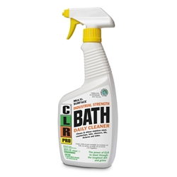 CLR Bath Cleaner - 32 ounce, 6/case CLR, CLR PRO, CLR bath Cleaner, Bath Cleaner