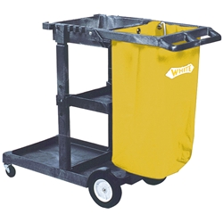 Cleaning Cart (may be used with microfiber applications) cleaning cart,janitorial cart,housekeeping cart