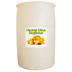 Neutral Citrus Degreaser - 55 gallon drum Neutral Citrus Degreaser,animal care facility degreaser/veterinary degreaser,heavy duty degreaser,kennel degreaser,veterinary degreaser