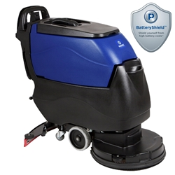 Pacific S-20 Disk Scrubber w/Battery Shield (Transaxle Drive, On-board Charger) Animal Care Floor Scrubbers,Kennel Floor Scrubbers,Animal Shelter Floor Scrubbers,Automated Floor Scrubbers,Pacific Floor Scrubber